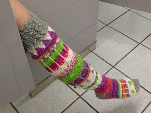 hippie knee socks