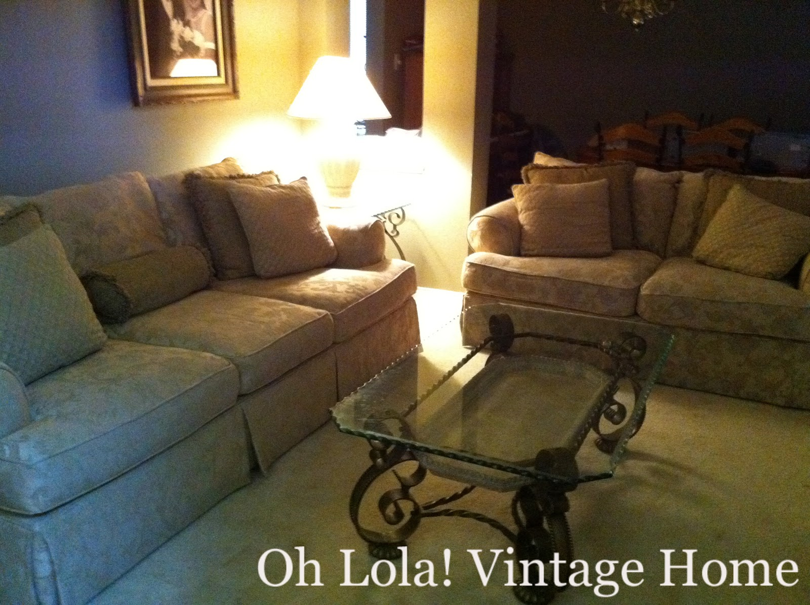 Oh Lola Vintage Home Love Seat Renovation Deep Cleaning - Lola Home