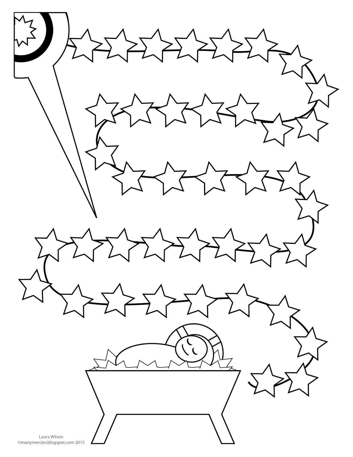 countdown to christmas coloring pages | we wilsons: Advent Countdown Printable
