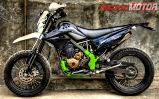 Modifikasi Motor Trail KLX