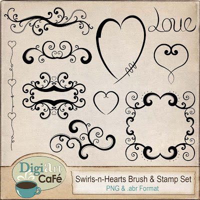 Free Brush & Stamp Set
