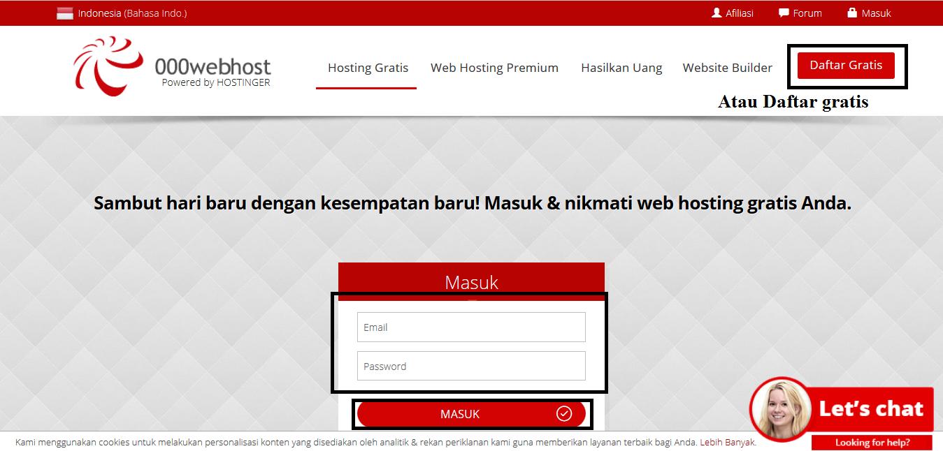 Cara Mengganti Domain Website Di Hosting Gratis 000webhost Dengan Domain Gratis Freenom Coding Ismynr Cara Dan Contoh Pemrograman