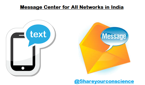 Message Center for All Networks in India