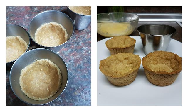 tartaletas de galleta con crema II