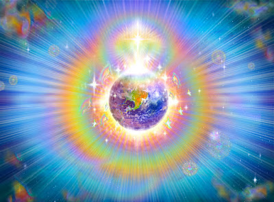 rainbow light earth - Jak wykorzystać sprzężenie zwrotne energii serca wuzdrawianiu?