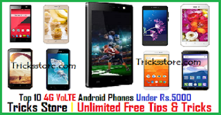 best 4g mobile phone under 5000 in india