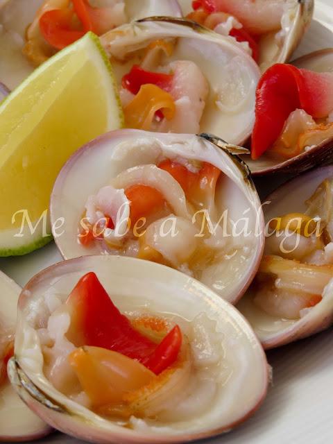 receta conchas finas malagueñas