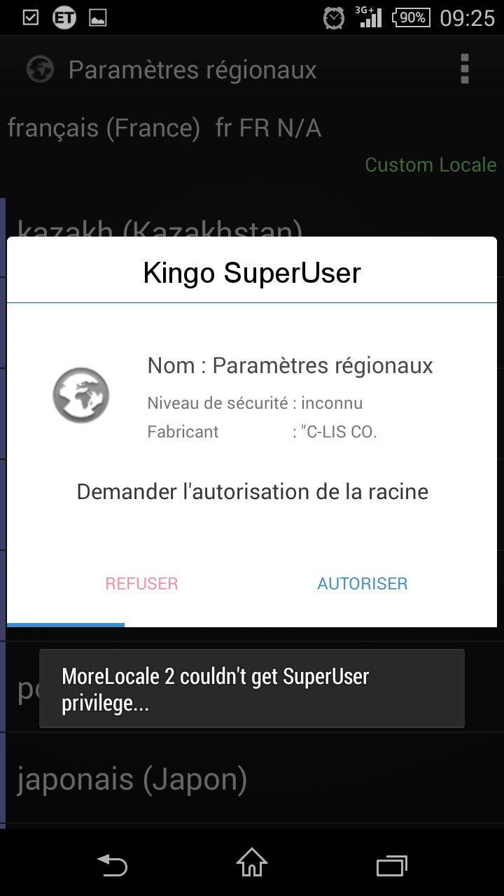 Mettre android en fran ais - Open office android francais ...