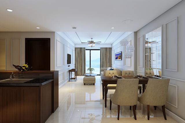 Phòng khách Luxury Apartment