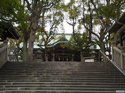 高津宮高津神社本殿