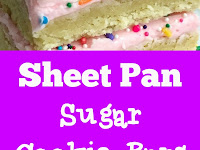 Sheet Pan Sugar Cookie Bars