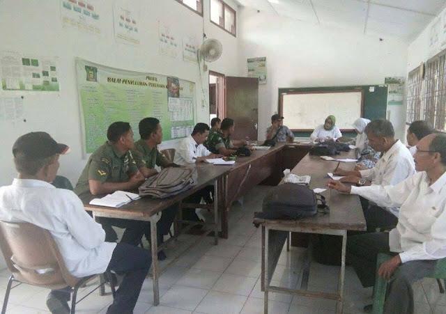 Babinsa Koramil 02/Selesai Melaksanakan Kegiatan Posko Pertanian di Kantor Kecamatan Selesai