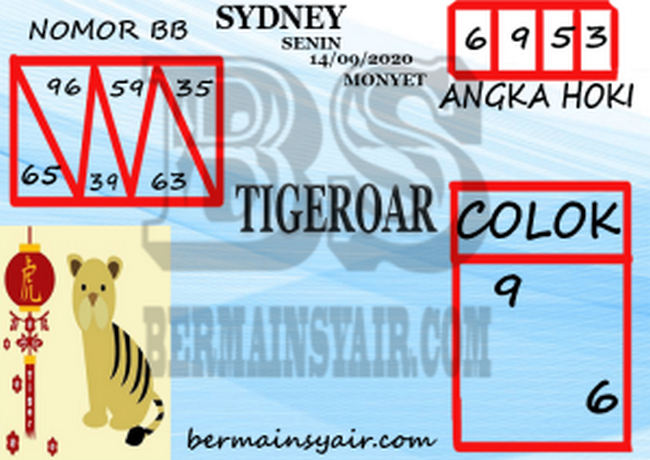 Kode syair Sydney Senin 14 September 2020 268