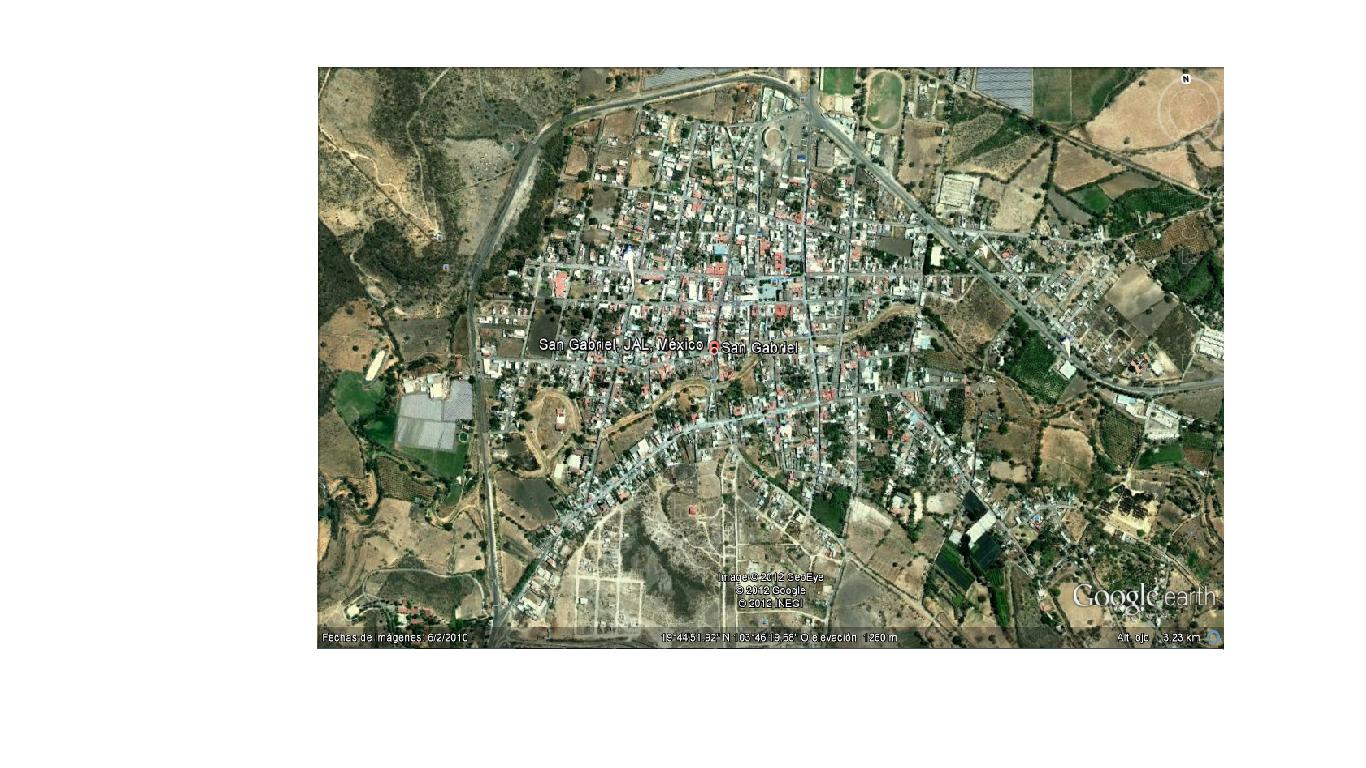 Visita San Gabriel Mapa De San Gabriel Jalisco