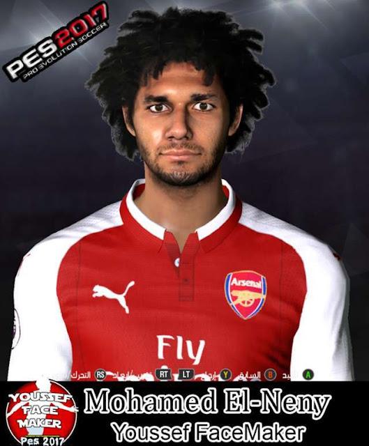 Mohamed El-Neny Face PES 2017