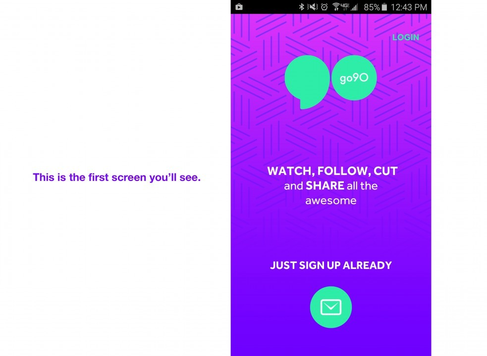 Verizon Launches go90 Video Streaming App for Android and iOS