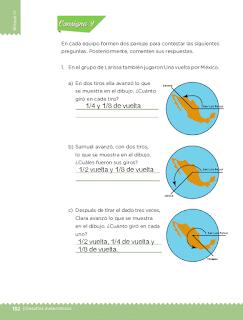 Respuestas Apoyo Primaria Desafíos matemáticos 3ro Grado Bloque IV Lección 62 Una vuelta por México