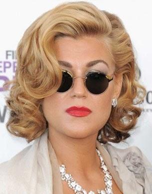 Inspirasi Gaya Rambut Bob untuk Wanita Berambut Keriting ...