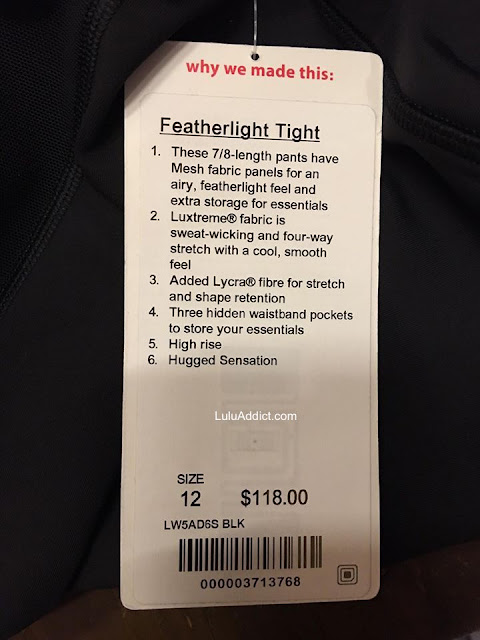 lululemon featherlight-tight