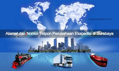 Alamat dan Nomor Telpon Perusahaan Ekspedisi di Surabaya