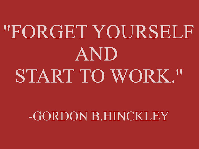 GORDON B. HINCKEY  QUOTES