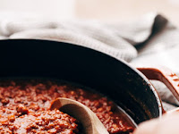 MY FAVORITE ALL PURPOSE EASY MEAT SAUCE (STOVE TOP + INSTANT POT)