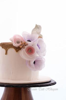 wafer paper nişan pastası