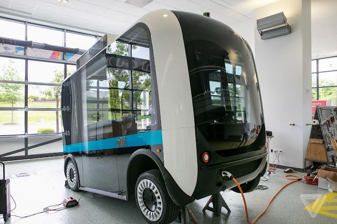 """Presentan a """"Olli"""", el primer vehículo de auto-conducción que aprovecha el poder de IBM Watson"""