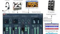 Mixare l'audio del microfono con suoni e musica del PC