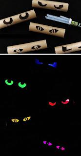 decorazione halloween occhi spaventosi immagine