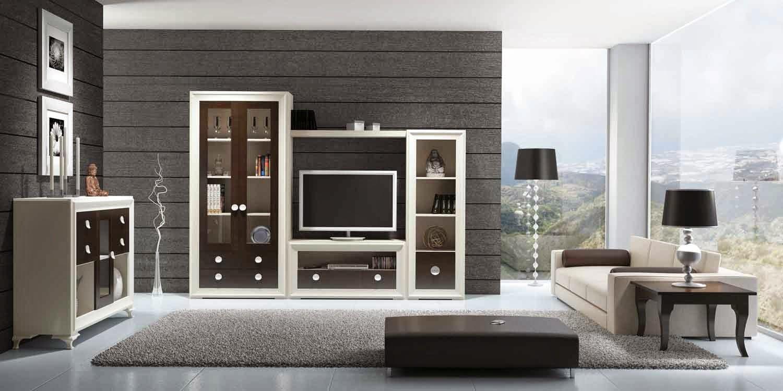 Decoraci n de salones modernos como decorar el hogar con - Muebles para el salon modernos ...
