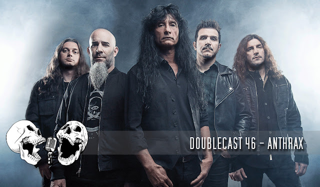 doublecast podcast anthrax thrash metal big 4