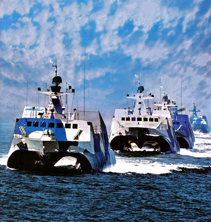 China's Type 022 catamaran missile boats – NextBigFuture.com