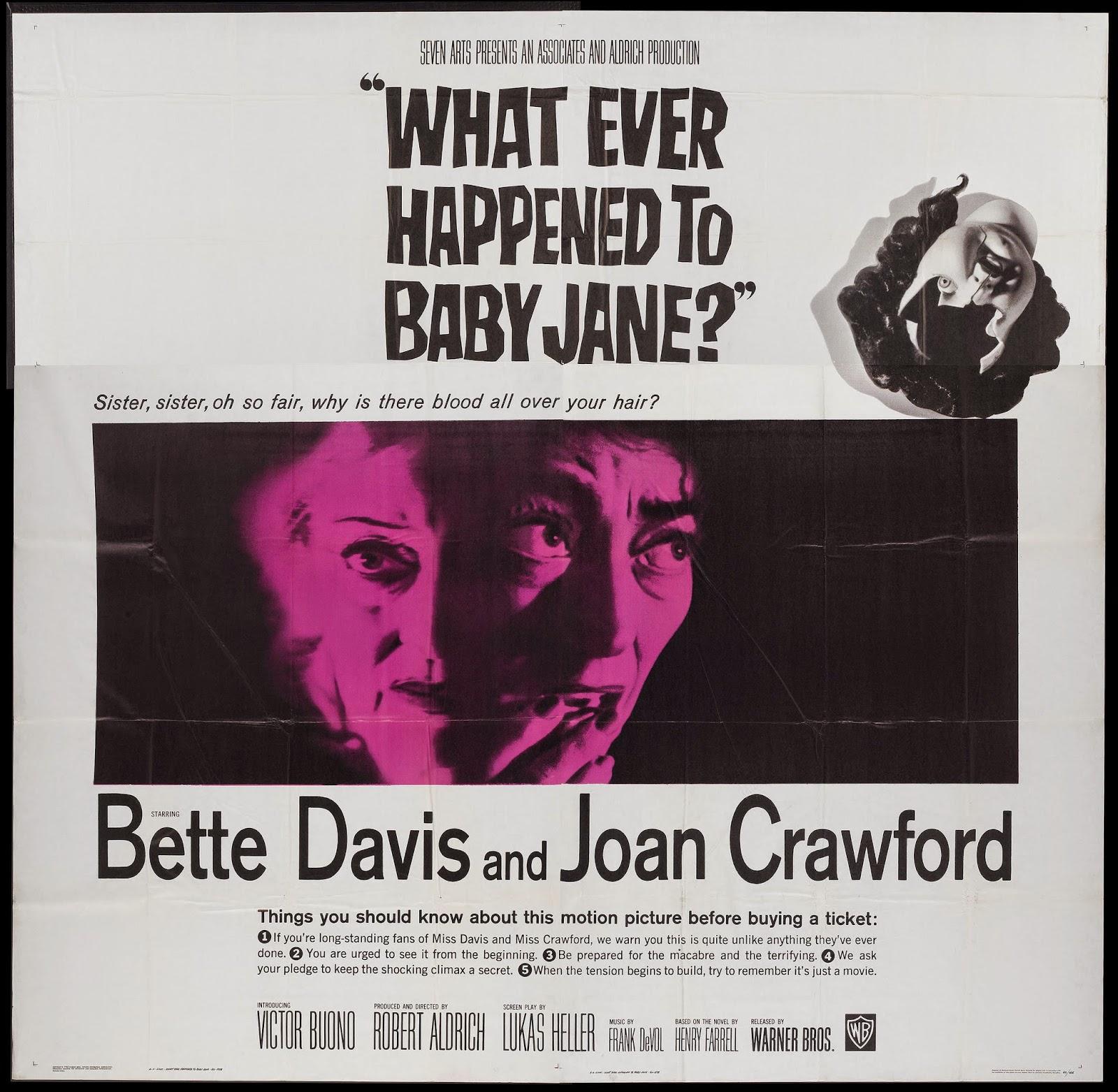 WHAT EVER HAPPENED TO BABY JANE? (Dir. Robert Aldrich ...