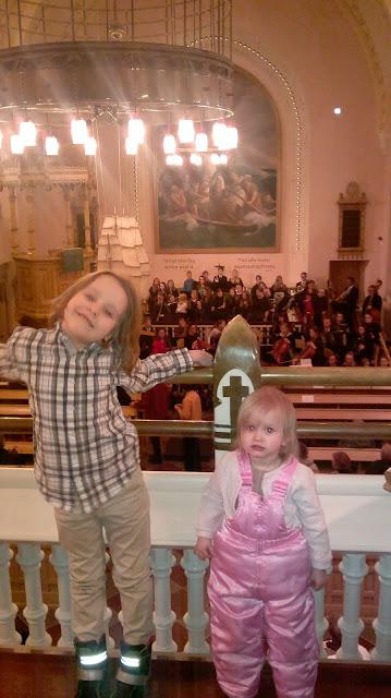 lapset kirkkokonsertti Raahe