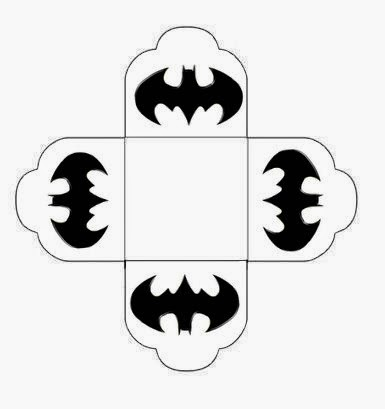 Batman Free Printable Open Boxes - Oh My Fiesta! for Geeks