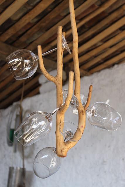 georgian wine chandelier