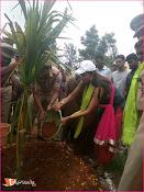 Manchu Lakshmi Participated HarithaHaram-thumbnail-8