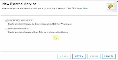 Integrate a WebService in IBM BPM v8 6