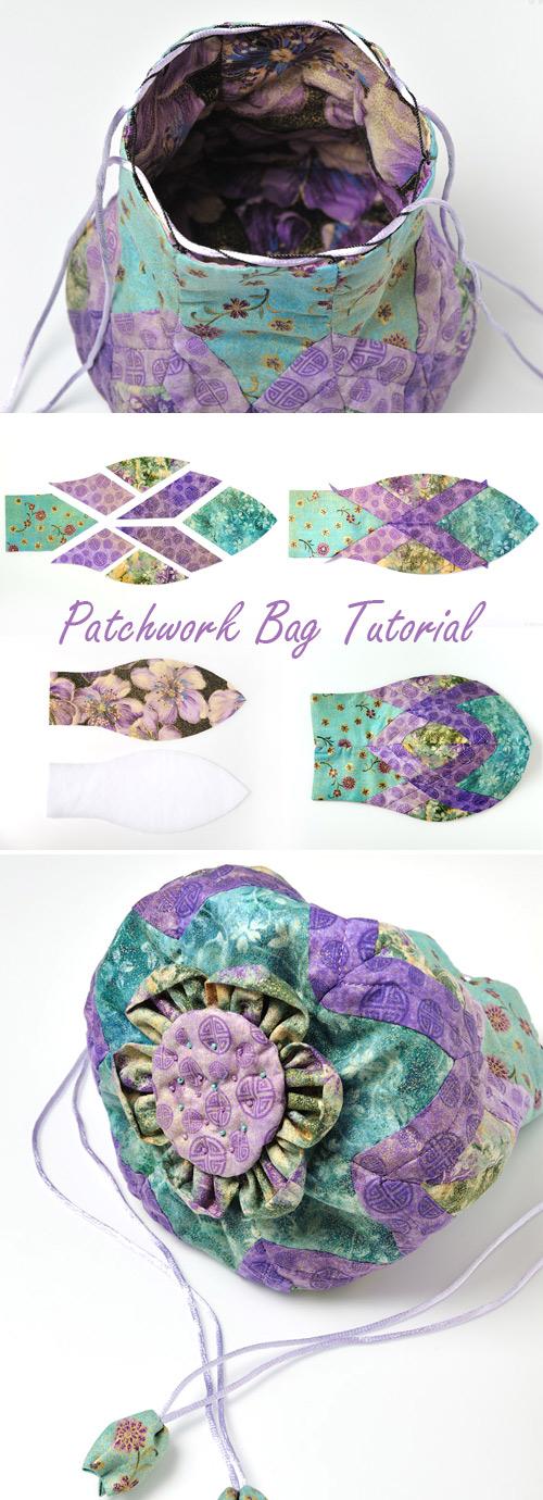 Drawstring Gift Bag Tutorial
