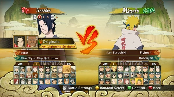 Save Naruto: Storm Revolution (All Characters Unlocked