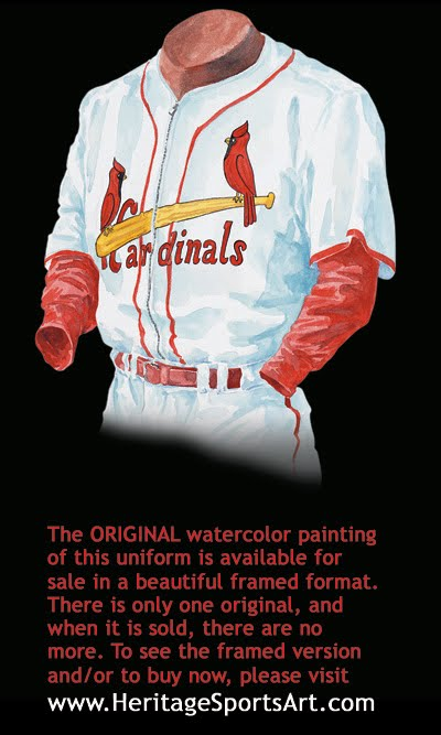 St. Louis Cardinals Uniform and Team History  1985a3d7e
