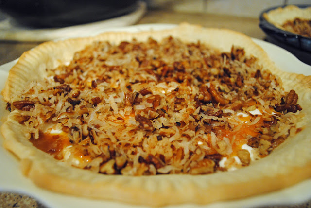 Pecan and Cream Cheese Pie