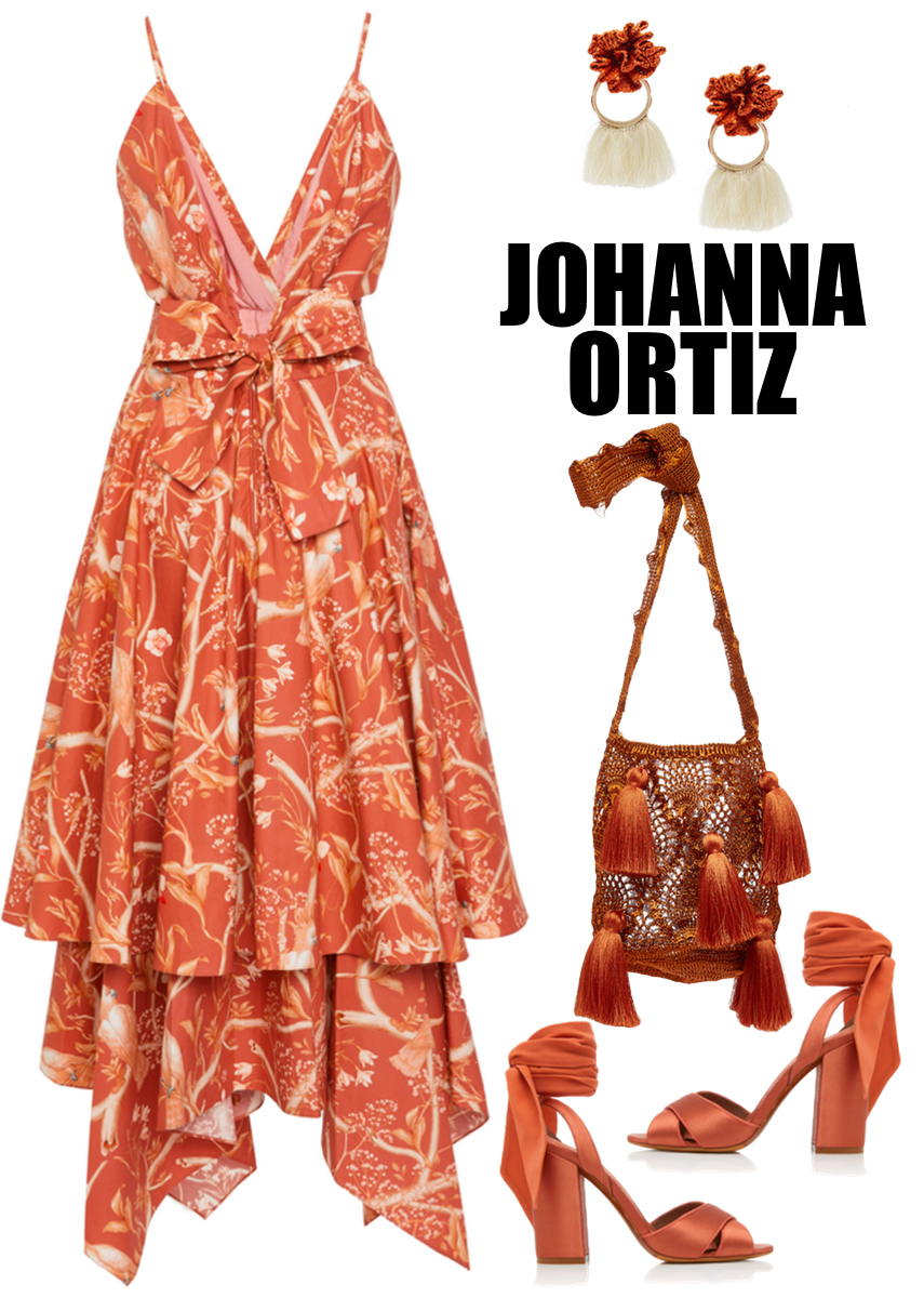 Johanna Ortiz Cacatua Cotton Poplin Dress