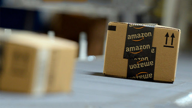 Compras online en Amazon en Miami