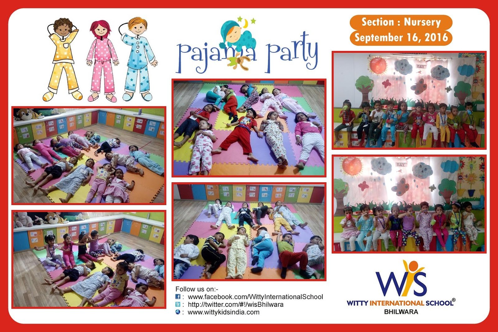 On the top of the World...: Nursery kids enjoyed Pajama ...