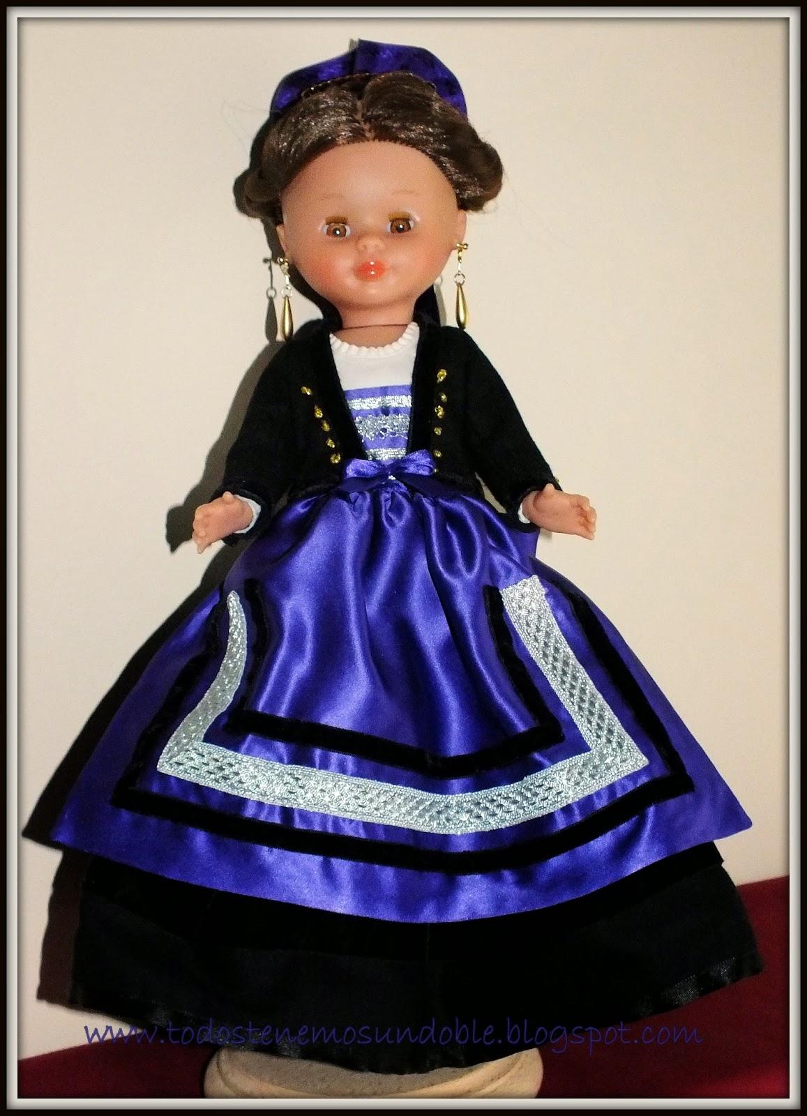 El vestir tradicional burgalés en miniatura: enero 2014
