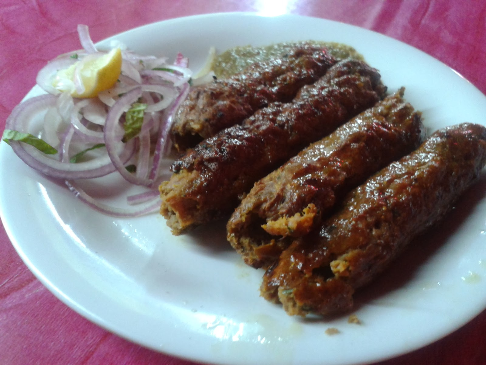 Seekh kabab Numaish Hyderabad