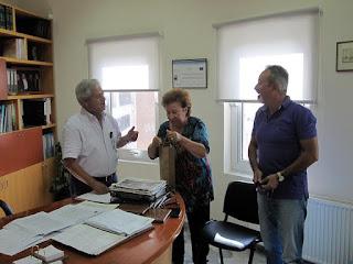 Στον Δήμο Μαλεβιζίου η Πρόεδρος της Ελληνικής Επιτροπής της UNESCO