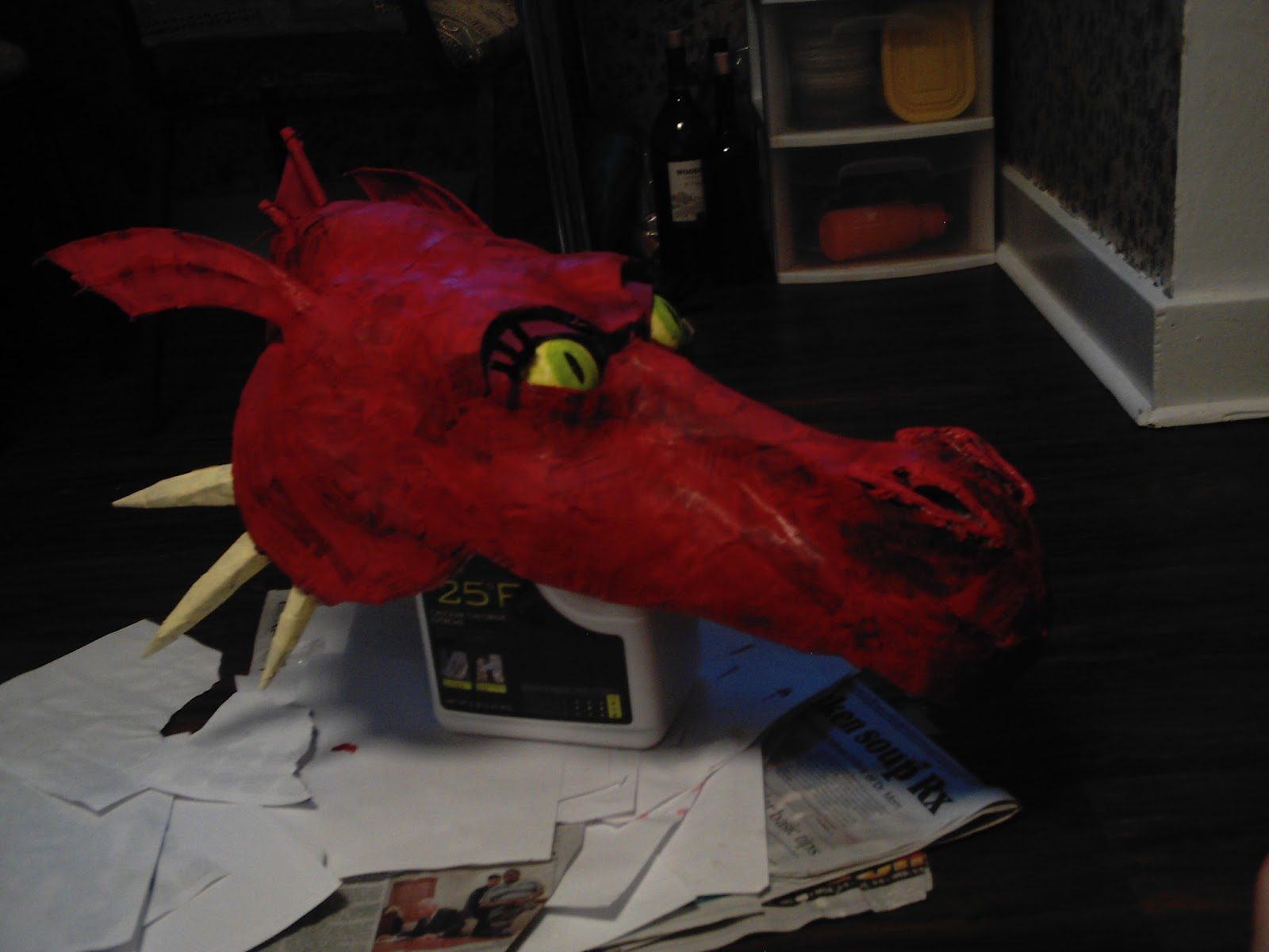The Art Of Making Anything How To Make A Shrek Dragon Head